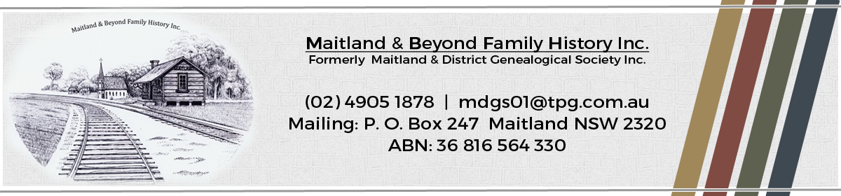 Maitland & District Genealogical Society