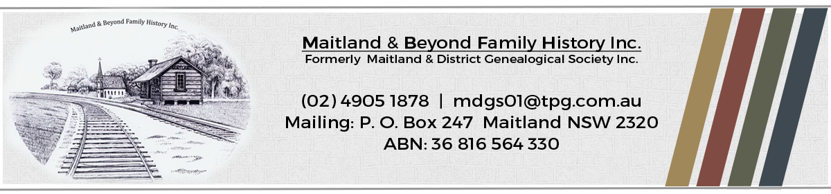 Maitland & Beyond Family History Inc.